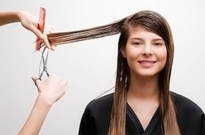 The only way to mend split ends is to have them cut off!