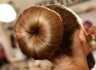 hair donut hairstyle