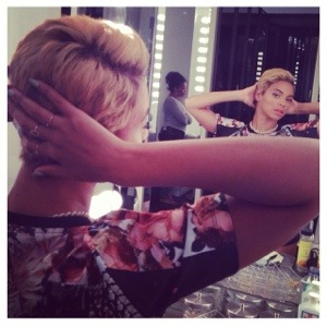 Beyonce's new pixie cut