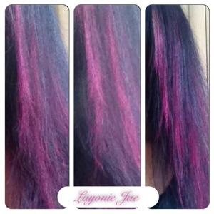 Crazy Color over my highlights
