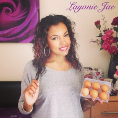 Layonie Jae's Homemade egg shampoo Review!