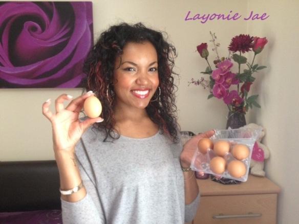 Layonie Jae's Homemade Egg Shampoo review!