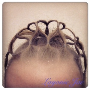 My hair made tiara - Layonie Jae