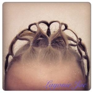 My hair made tiara - Layonie Jae